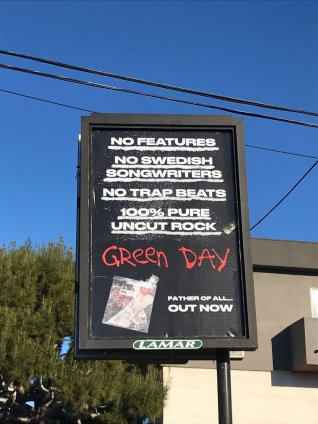 green day 100% pure uncut rock